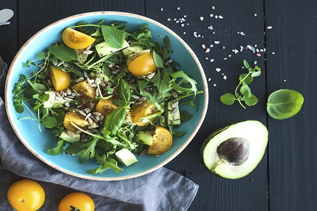 Greens for better digestion