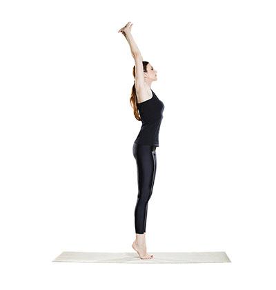 Upward stretch
